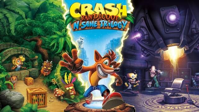 Crash Bandicoot N.Sane Trilogy supera los 10 millones de unidades vendidas
