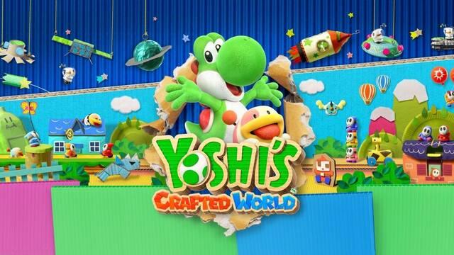 Ya disponible para descargar una demo de Yoshi's Crafted World para Switch