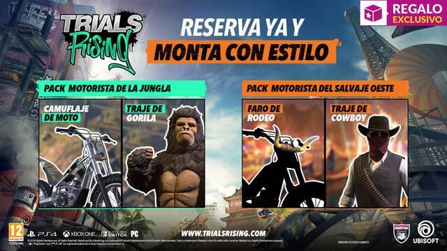 GAME anuncia sus incentivos por reserva para Trials Rising