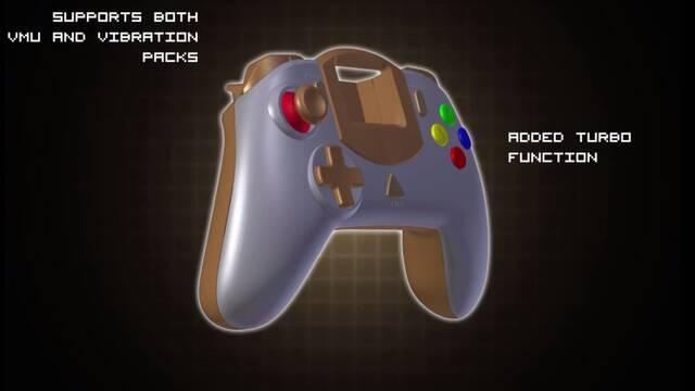 Un mando para Dreamcast arrasa en Kickstarter