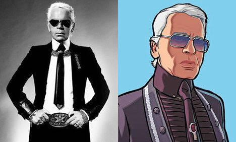 Fallece el popular diseñador Karl Lagerfeld, que colaboró en Grand Theft Auto IV
