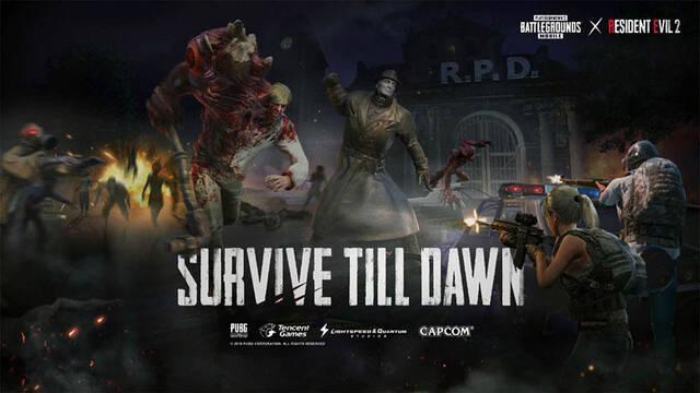 PUBG Mobile y Resident Evil 2 anuncian el lanzamiento de su colaboración