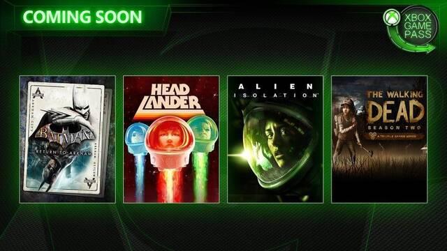 Xbox Game Pass: Alien: Isolation y Batman: Return to Arkham llega al servicio