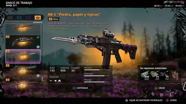 Far Cry New Dawn: Cómo construir las mejores armas (Armas élite)