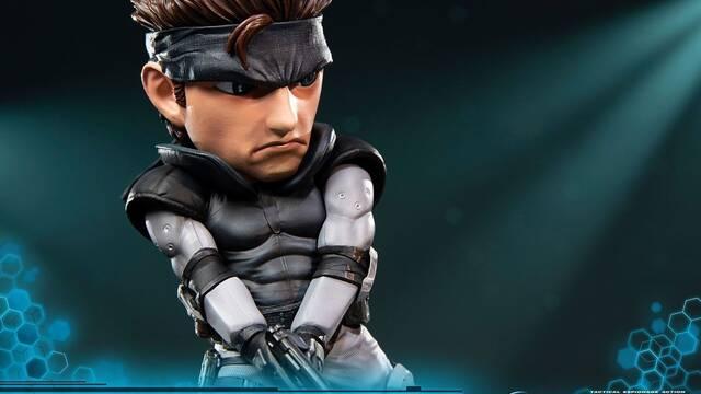 First 4 Figures presenta su estatua SD de Solid Snake