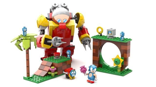 Esta genial figura LEGO de Sonic the Hedgehog podría llegar al mercado