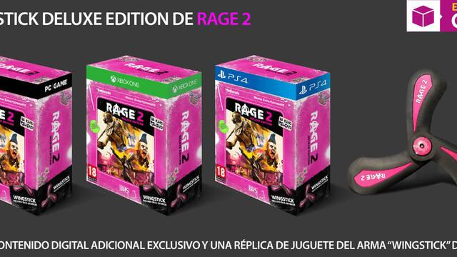GAME presenta su edición exclusiva de RAGE 2
