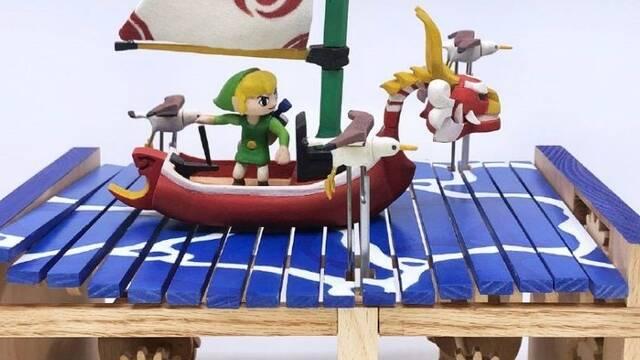 Un fan de The Legend of Zelda: The Wind Waker construye un diorama animado