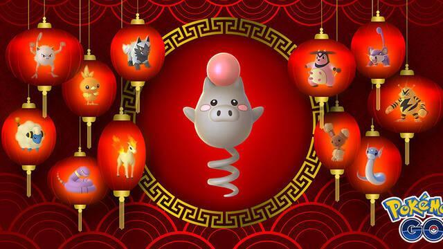 Pokémon GO también celebra el Año Nuevo Lunar