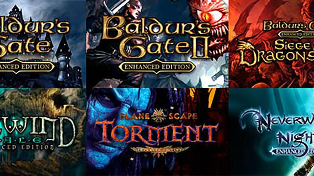 Baldur's Gate, Neverwinter Nights y más llegarán a consolas