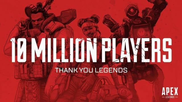 Apex Legends alcanza los 10 millones de jugadores en 72 horas