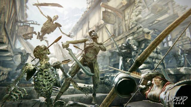 Undead Citadel une fantasía medieval y no-muertos para realidad virtual