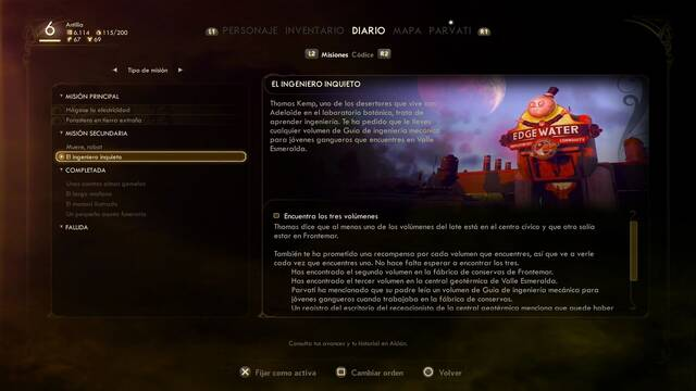 Cómo completar El ingeniero inquieto en The Outer Worlds