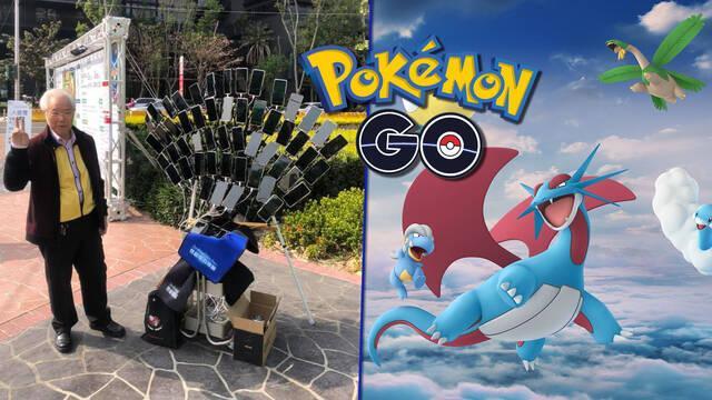Pokémon Go, anciano