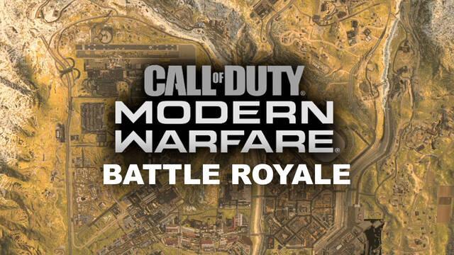 Call of Duty: Modern Warfare y el mapa del battle royale