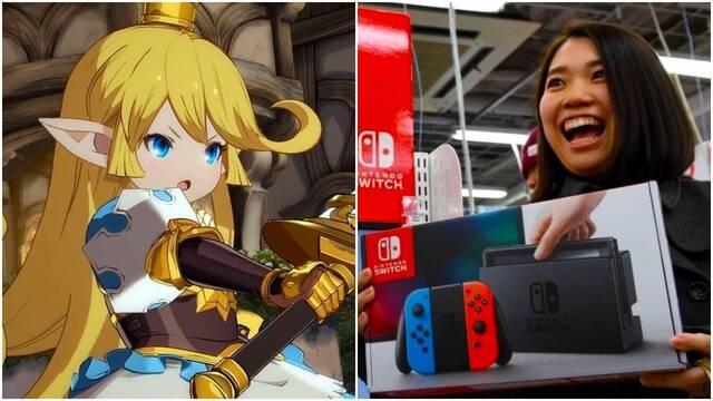 switch y granblue fantasy son los más vendidos