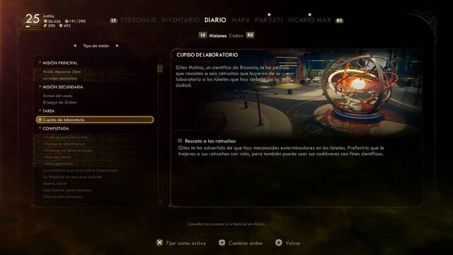 Cómo completar Cupido de laboratorio en The Outer Worlds