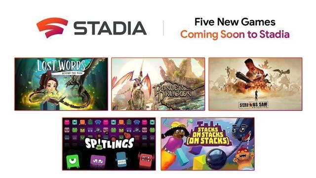 Cinco nuevos juegos para Stadia