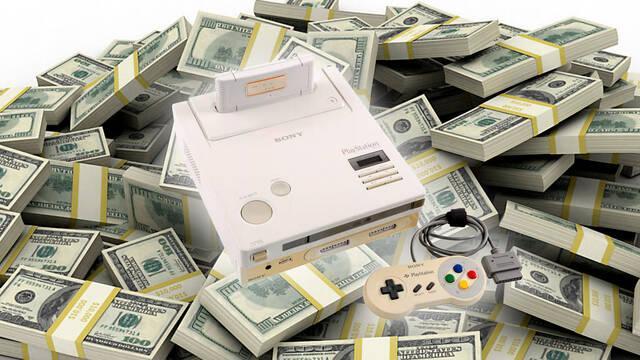 Subasta de Nintendo PlayStation