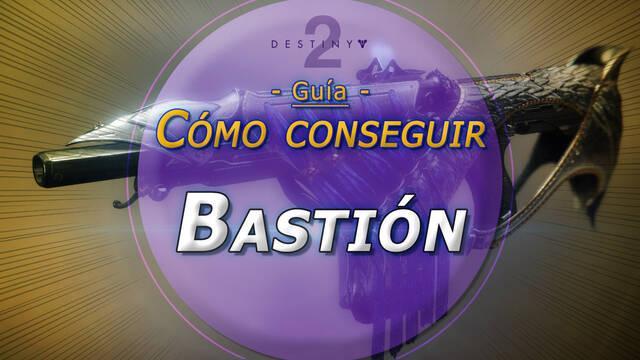 Bastión en Destiny 2: Solución al puzzle y cómo conseguir este fusil exótico