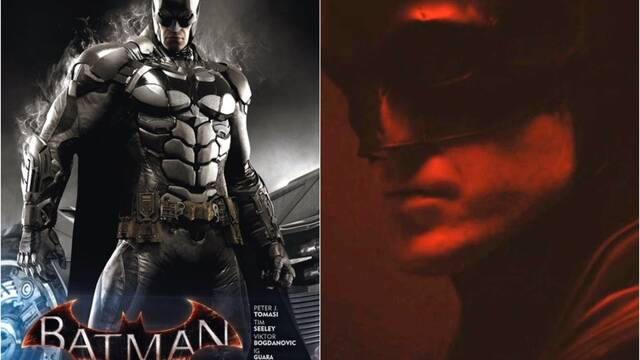 Batman y The Batman, el traje