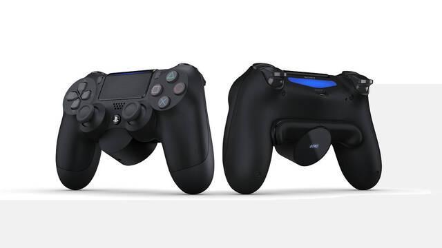 Llegan los botones traseros del DualShock 4
