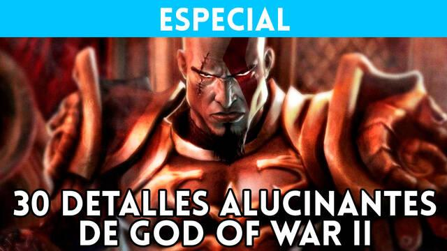 30 detalles alucinantes de God of War 2