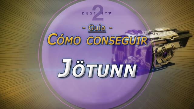 Jötunn en Destiny 2: Cómo conseguir este fusil de fusión exótico