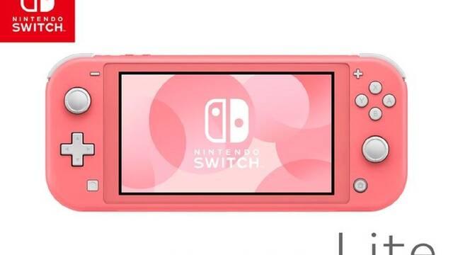Nintendo switch Coral Estados Unidos Fecha de lanzamiento