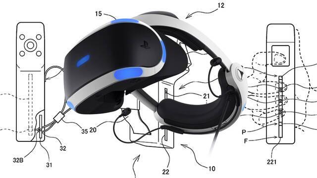 Sony patenta un mando para PS VR 2 muy innovador