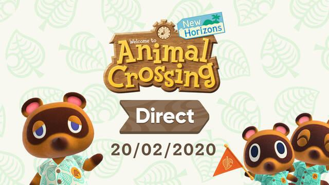 Animal Crossing Direct fecha hora