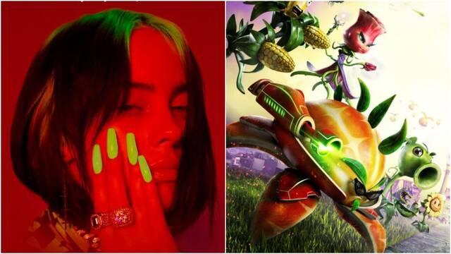 Billie Eilish admite la relación entre la canción Bad Guy y Plants VS. Zombies