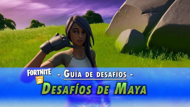 Fortnite: Guía de desafíos de Maya - Solución y objetivos