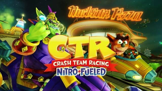 Crash Team Racing Nitro-Fueled gran premio Gasmoxia