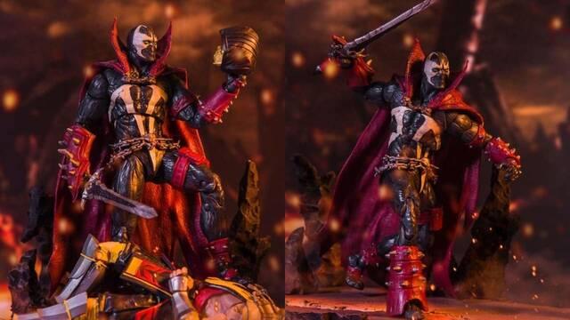 Una nueva figura de Spawn nos muestra el diseño que tendrá en Mortal Kombat 11.