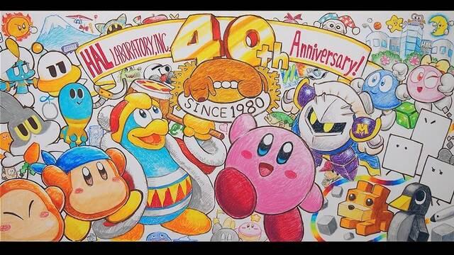 Hal Laboratory 40 aniversario