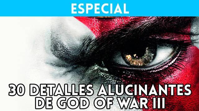 30 detalles alucinantes de God of War 3