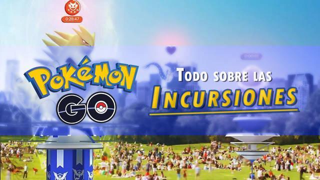Todo sobre las Incursiones (raids) en Pokémon GO y cómo funcionan