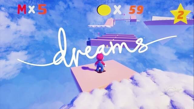 Super Mario en Dreams