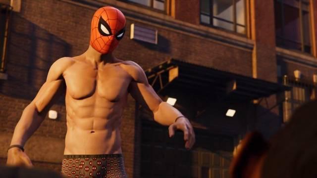 Spider-Man PS4 pezones