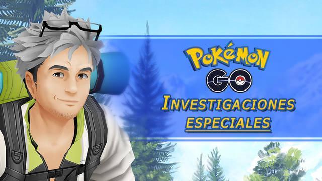 Pokémon Go: Todas las investigaciones especiales y sus recompensas