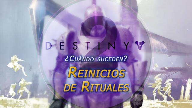 Reinicios de rituales en Destiny 2: ¿Qué día y a qué horas suceden?