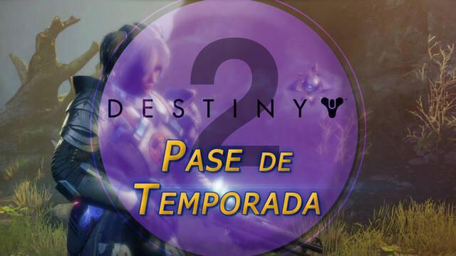 Pase de Temporada en Destiny 2: qué es, qué incluye y cómo comprarlo