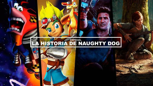La historia de Naughty Dog: De Crash Bandicoot a The Last of Us Parte II