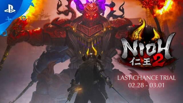 Nioh 2 estrenará mañana una nueva demo y muestra su tráiler