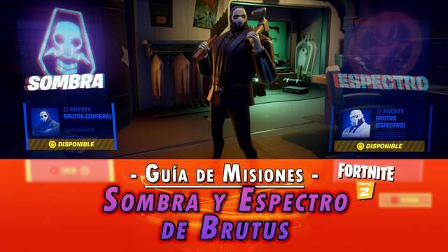 Desafío Fortnite: Misiones de Sombra y Espectro de Brutus - SOLUCIÓN