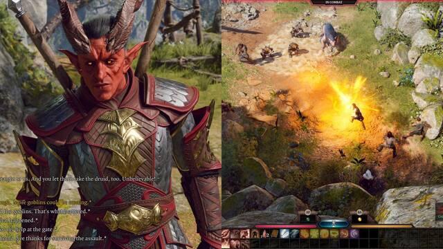 Baldur's Gate 3 primeras imágenes y gameplay