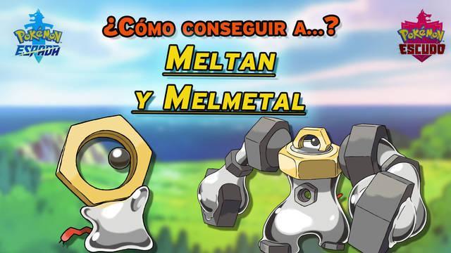 Meltan y Melmetal en Espada y Escudo: Cómo conseguir a estos Pokémon singulares