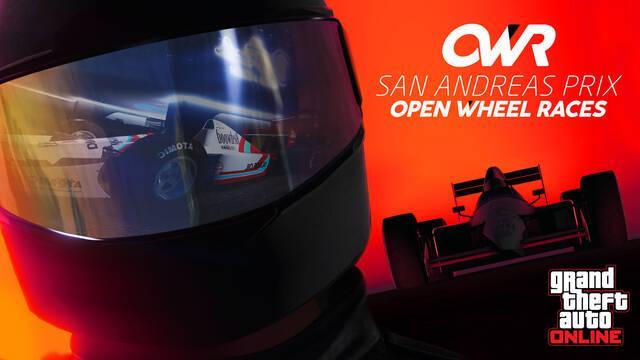 La F1 llega a GTA Online con Open Wheel Racing