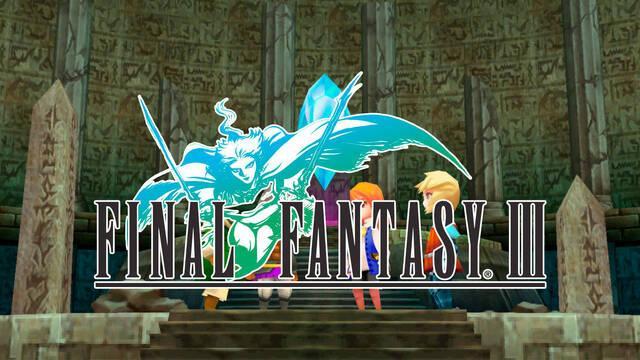 Final Fantasy III se actualiza en PC, iOS y Android